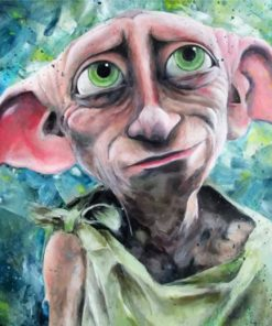 Dobby From Harry Potter Paint by numbers