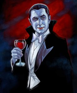 dracula-vampire-paint-by-number
