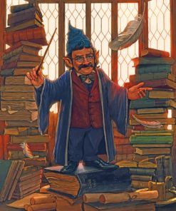 flitwick harry potter paint by number