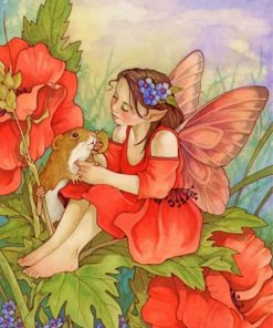 Flower Fairy Paint by numbers