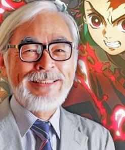 Hayao Miyazaki Kimetsu No Yaiba Paint by numbers
