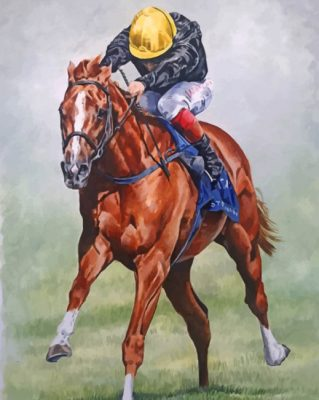 Horse Race Paint by numbers