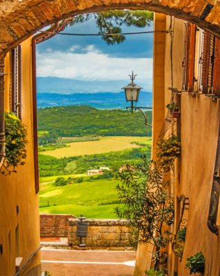 Italian Countryside Piant by numbers
