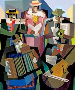 Jazz Music Paint by numbers