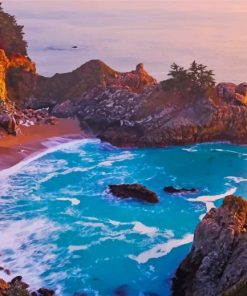 julia pfeiffer burns state park paint by numbers