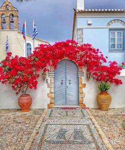 La Casa De Flores Paint by numbers
