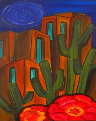 Maynard Dixon Art Paint by numbers