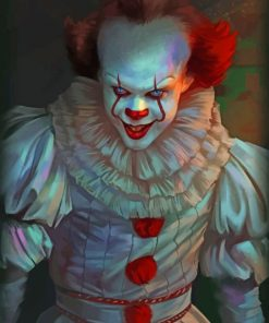 pennywise Clown paint by numbers