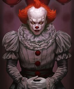 pennywise It paint by numbers
