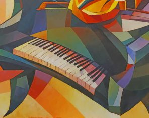piano art paint by numbers