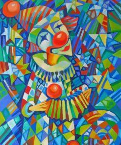Pop Art Clown Paint by numbers
