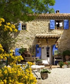Aesthetic Provence House piant by numbers