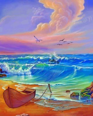 Beautiful Ocean Paint by numbers