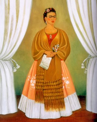 self portrait frida Art paint by numbers