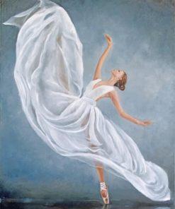 Swan Lake Ballerina Paint by numbers