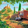 Tuscan Scene paint by numbers