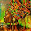 African Woman Art Paint by numbers