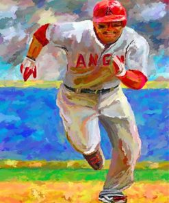 Baseball Player Paint by numbers