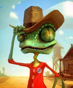 Cowboy Rango Paint by numbers