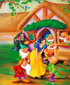 Disney Snow White Paint by numbers