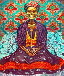 Frida Skull Paint by numbers