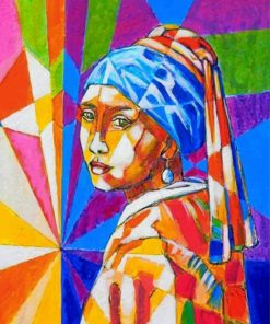 Girl-with-a-Pearl-Earring-pop-art-paint-by-numbers