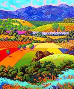 Landscape Art Paint by numbers