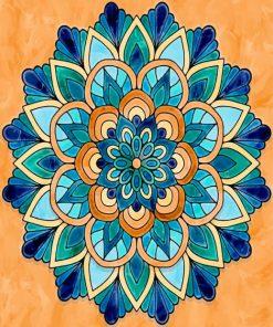 Mandala Art Paint by numbers