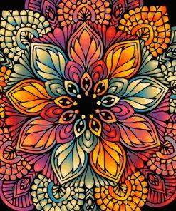 Mandala Art paint by number
