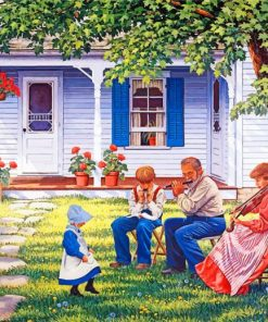 Musicians Family Paint by numbers