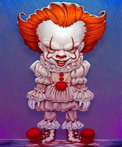 Pennywise Art Paint by numbers