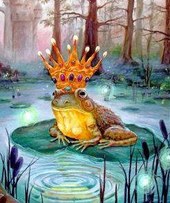 Princess Frog paint by numbers