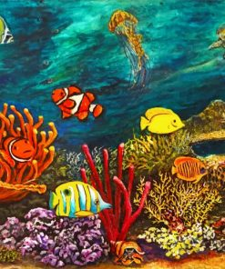 Under Sea Paint by numbers