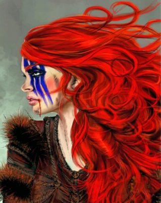 Ygritte GOT Art Paint by numbers