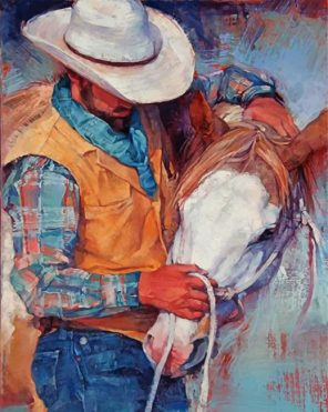 abstract-cowboy-paint-by-numbers