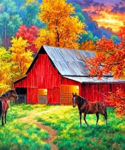 aesthetic-barn-paint-by-number