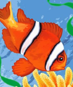 aesthetic-clown-fish-paint-by-numberaesthetic-clown-fish-paint-by-number