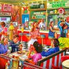 American Diner Paint by numbers