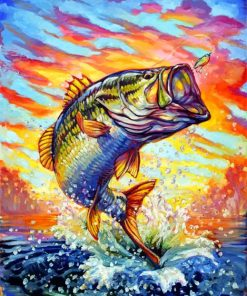 bass-fish-ar-paint-by-number