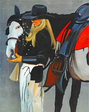 blonde-cowgirl-paint-by-numbers