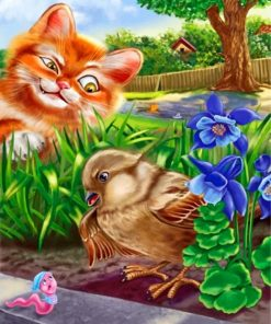 cat-and-bird-paint-by-number
