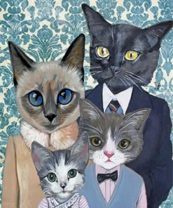 cats-family-paint-by-number