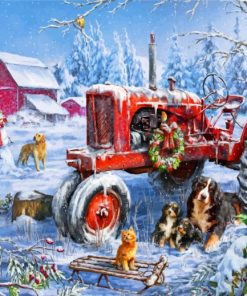 christmas-on-the-farm-paint-by-numbers