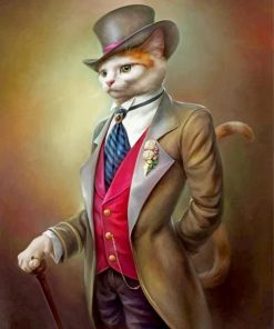 classy-cat-paint-by-numbers