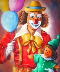 clowns-paint-by-number