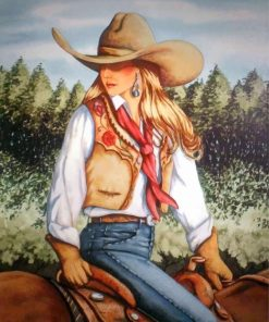 cowgirl-paint-by-number