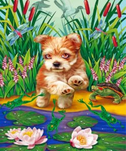 cute-puppy-paint-by-numbers