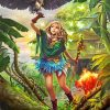 forest-little-queen-paint-by-number