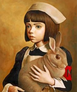 girl-and-rabbit-paint-by-number