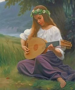 girl-playing-music-paint-by-numbers